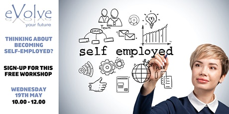 Thinking about becoming self-employed? tickets