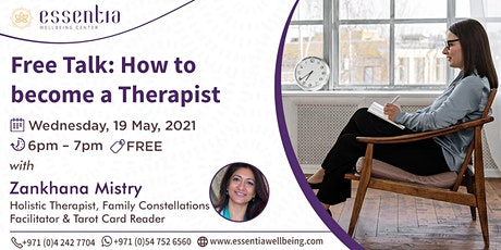 Free talk: How to Become a Therapist with Zankhana Mistry tickets