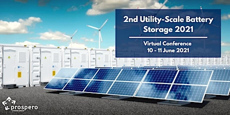 2nd Utility-Scale Battery Storage 2021 tickets
