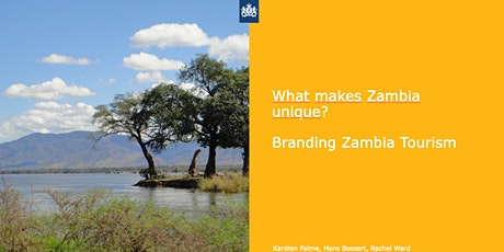 Branding Destination Zambia - Focus Group discussion tickets