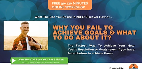 """Free online workshop """"Why you fail to achieve goals & what to do about it?"""" tickets"""