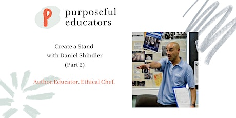 Creating your Stand with Daniel Shindler (Part 2) tickets