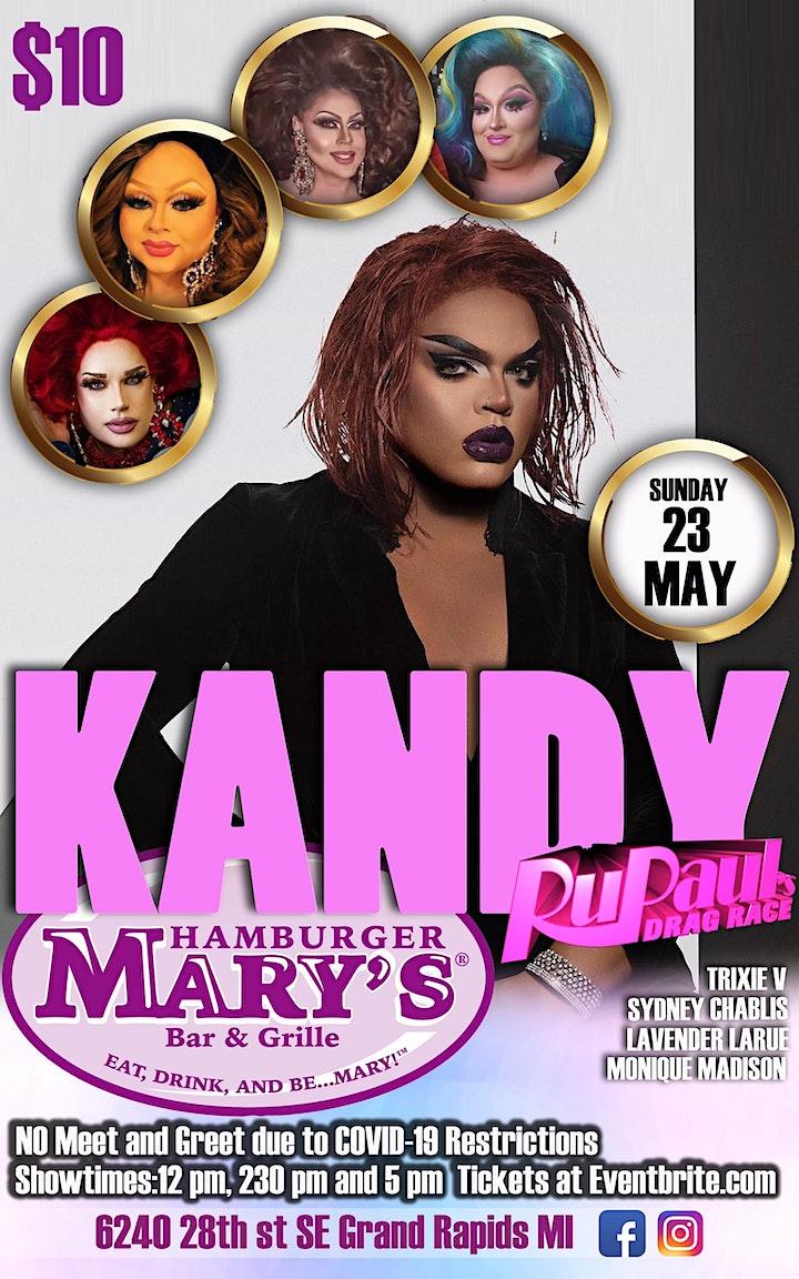Kandy Muse at Hamburger Mary's Grand Rapids image