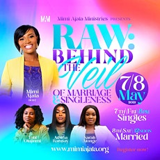 Raw: Behind the Veil For Single & Married Ladies tickets