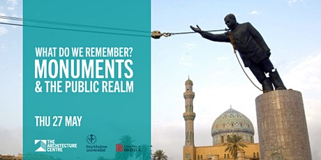 What do we Remember? Monuments & the Public Realm tickets