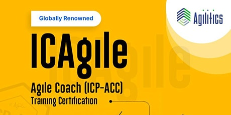 Agile Coach Certification (ICP-ACC) Training tickets