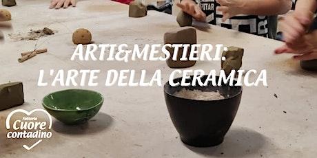 Weekend in Fattoria: l'arte della ceramica biglietti