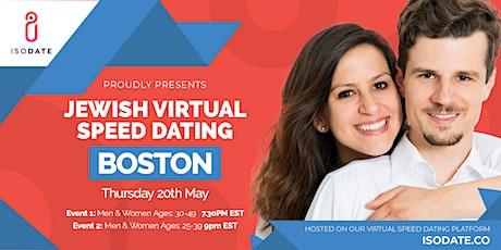 Isodate's Boston Jewish Virtual Speed Dating tickets