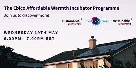 Find out more about The Ebico Affordable Warmth Incubator Programme! tickets