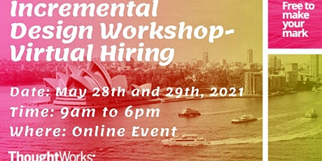 Incremental Design Hiring workshop biglietti