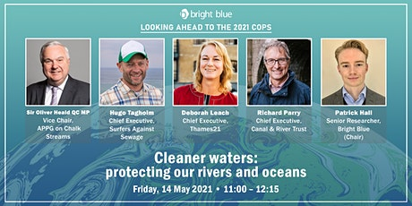 Cleaner waters: protecting our rivers and oceans tickets