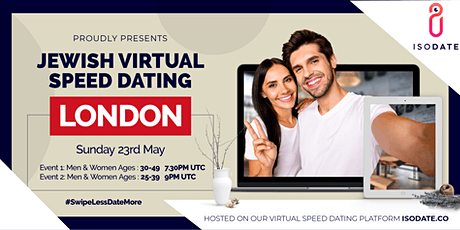 Isodate's London Jewish Virtual Speed Dating tickets