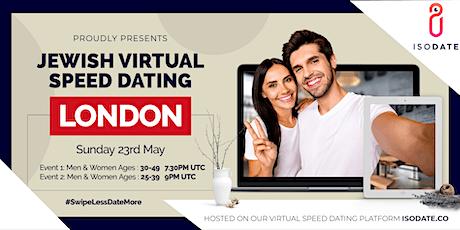 Isodate's London Jewish Virtual Speed Dating tickets