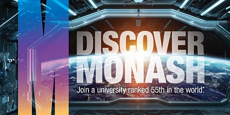 Monash Virtual Open Day & Postgraduate Preview tickets