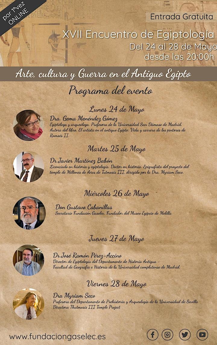 Imagen de XVII Encuentro de Egiptología