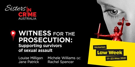 Law Week 2021: Witness for the Prosecution Online Panel tickets