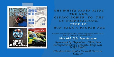 Stop the NHS White Paper tickets