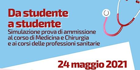 Simulazione prova di ammissione Medicina e professioni sanitarie biglietti
