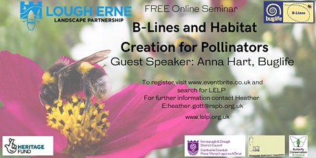 BugLife B-Lines Initiative and Habitat Creation for Pollinators tickets
