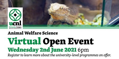 Animal Welfare Science Virtual Open Event - June tickets