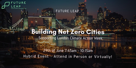 Building Net Zero Cities tickets