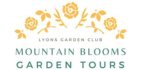 Mountain Blooms Garden Tours tickets