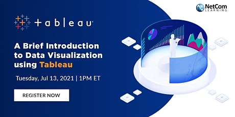 Webinar - A Brief Introduction to Data Visualization using Tableau tickets