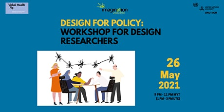Design for Policy: Workshop for Design Researchers tickets