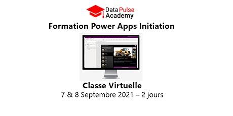 Power Apps Initiation - 2 jours - 7 & 8 Septembre 2021 billets