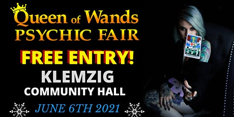 Queen of Wands Psychic Fair At Klemzig 06-06-21 tickets