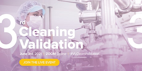 3rd Cleaning Validation Live Event tickets