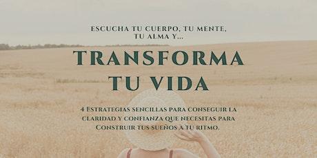 Transforma tu vida,4 Estrategias para conseguir la vida de tus sueños. entradas