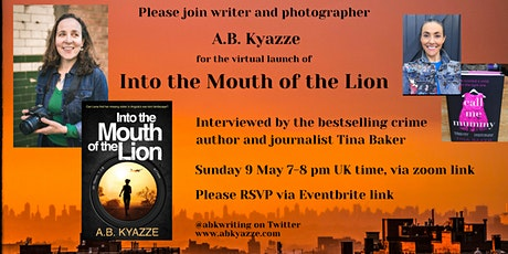 Into the Mouth of the Lion Virtual Book Launch tickets