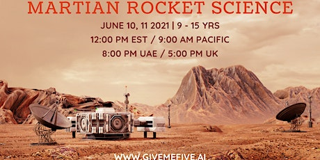 Martian Rocket Science Webinar ( 9-15 years) tickets