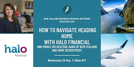 Masterclass: How to Navigate Heading Home tickets