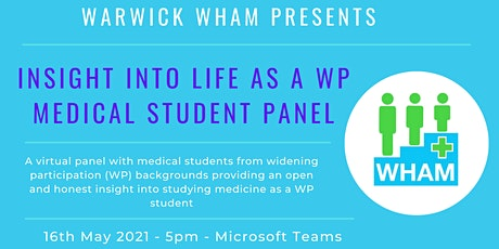 Insight into life as a Medical Student Panel tickets