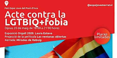 Acte contra la LGTBFOBIA+ entradas