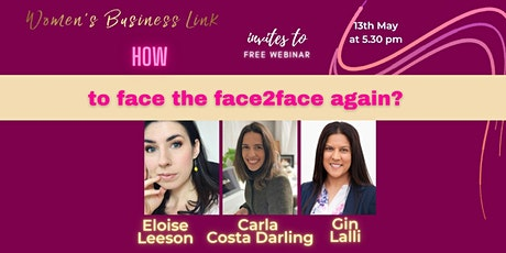 WBL webinar: Are you ready to face the face2face? tickets
