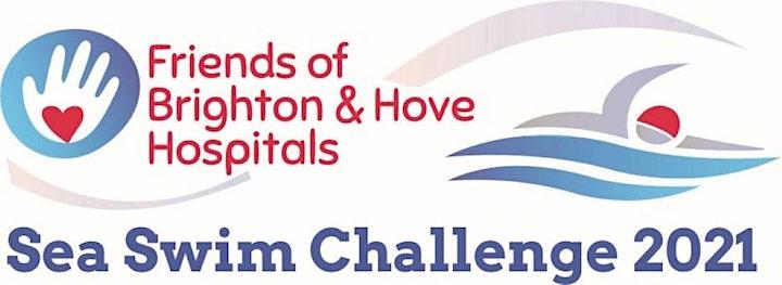 Friends of Brighton & Hove Hospitals Sea Swim Challenge 2021 image