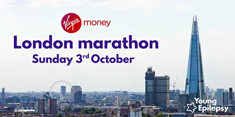 Young Epilepsy's London Marathon  October 2021 tickets