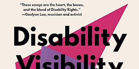 Disability Visibility by Alice Wong - Online Book Club tickets