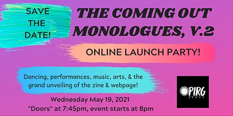 All Ages Launch Party! - The Coming Out Monologues V.2 tickets