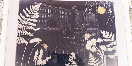 Saltaire Inspired Cyanotype and Mixed Media Print Workshop. tickets