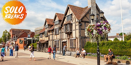 SOLO BREAKS: Stratford-upon-Avon with meals & cocktail 26/06/2021 tickets