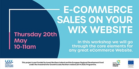 eCommerce sales on your Website - How To Set Up, Optimise and Sell with Wix tickets