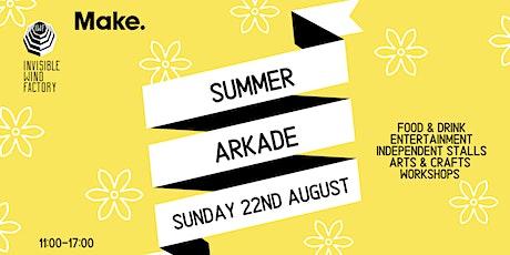 The Summer Arkade 2021 tickets
