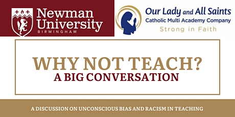 Why not teach? The Big Conversation tickets