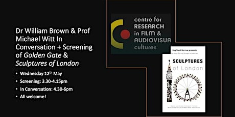Essay Films: Screening + In Conversation with William Brown & Michael Witt tickets