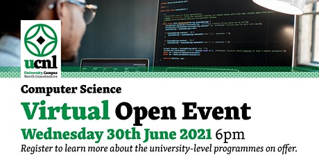 Computer Science Virtual Open Event - June tickets