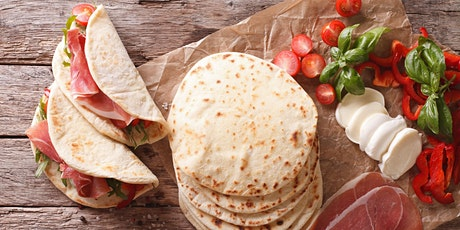 Pocket Piadine with Smeg - 'Cook-along' with Smeg's Home Economists tickets